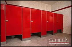 mamparas de baño  institucional sanilock