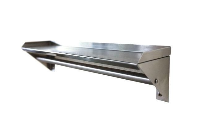 Repisa colgadero sanilocksanilock for Percheros de acero inoxidable
