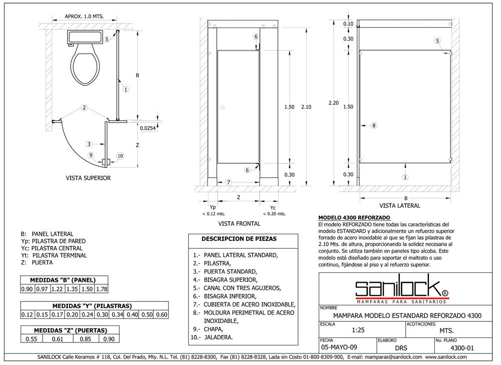 Medidas Baño Publico:Mamparas reforzadas, Mamparas para baños, mamparas de baño para