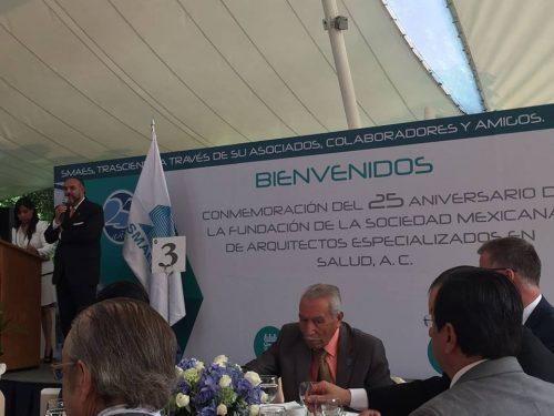 25 aniversario de la sociedad mexicana de arquitectos especializados en salud a c sanilock - Sociedad de arquitectos ...